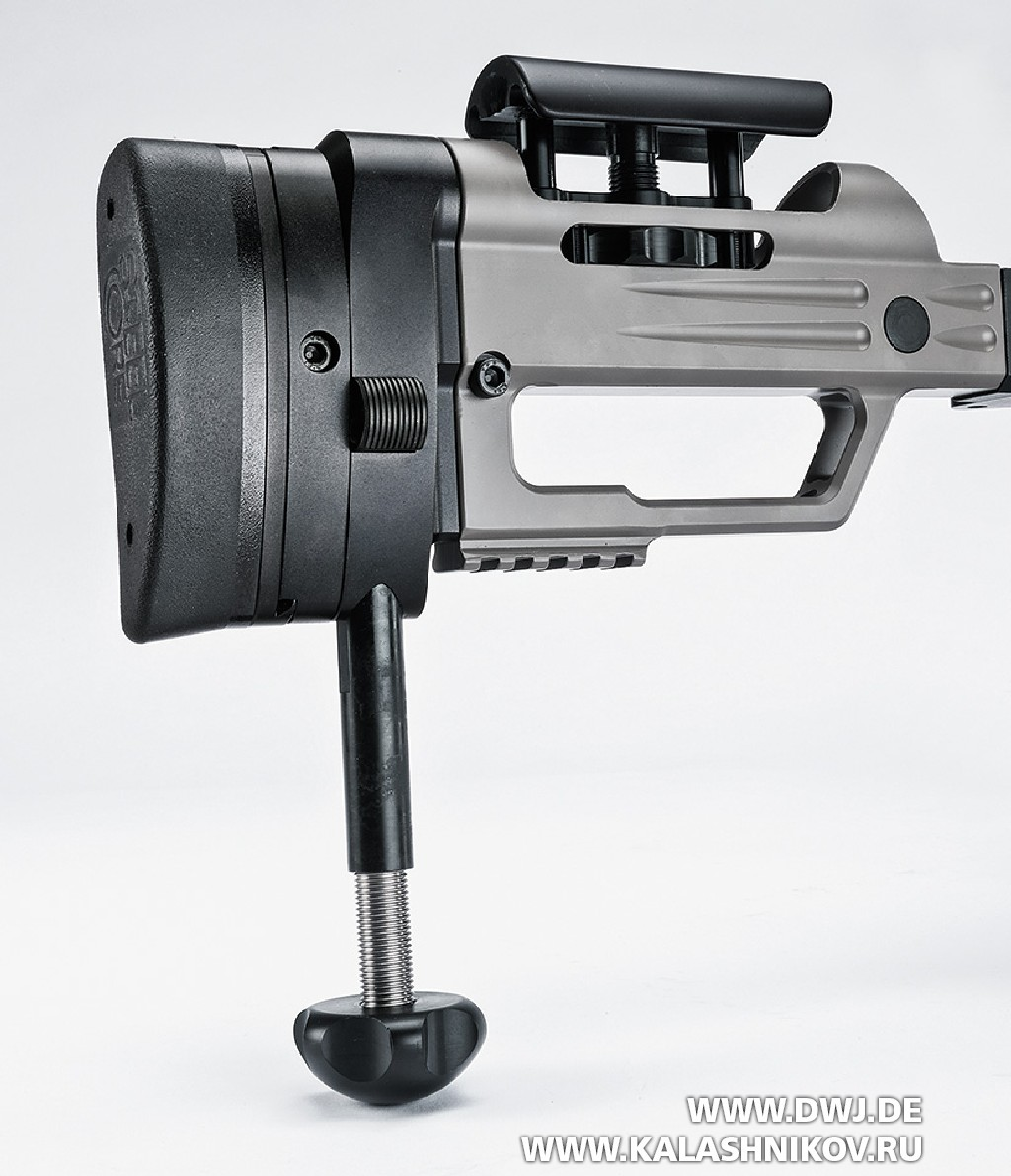 Высокоточная винтовка Steel Core Designs Cyclone калибра .308 Winchester. Приклад