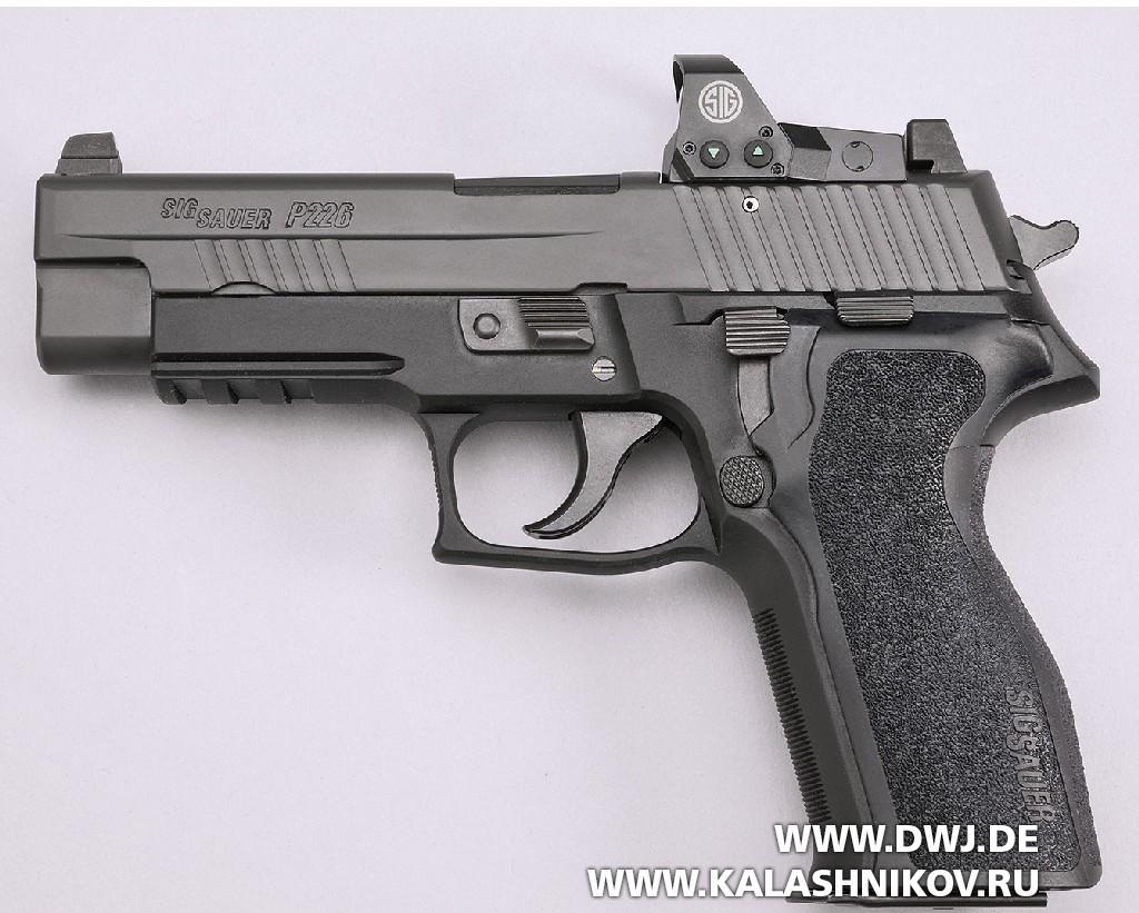 Пистолет SIG Sauer P226 RX сколлиматорным прицелом Romeo1. Фото 3