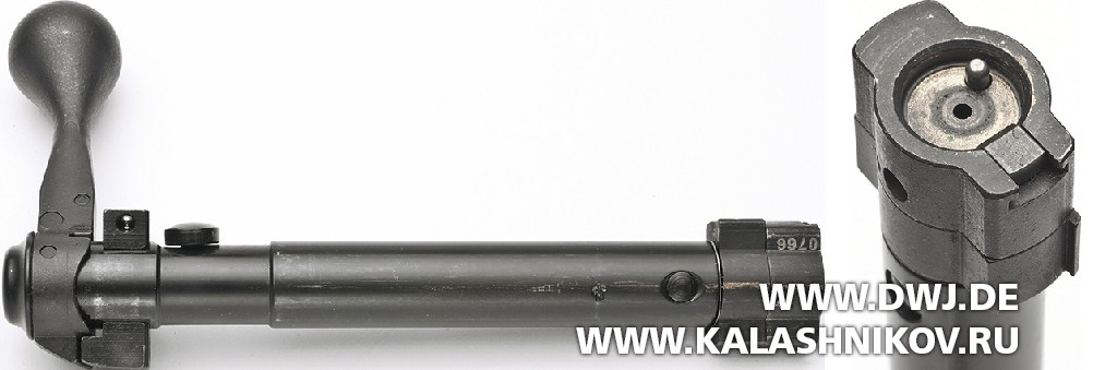 Высокоточная винтовка Savage 10BA Stealth. Затвор
