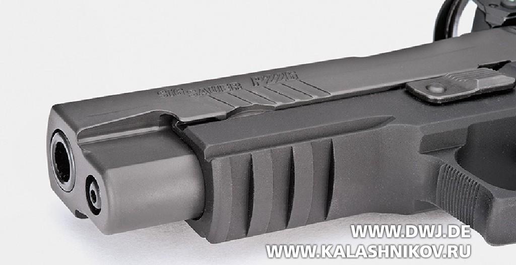 Пистолет SIG Sauer P226 RX сколлиматорным прицелом Romeo1. Фото 2