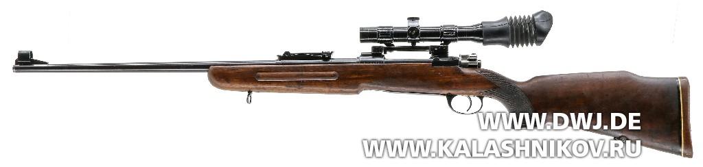 Югославская снайперская винтовка М1969. Вид слева