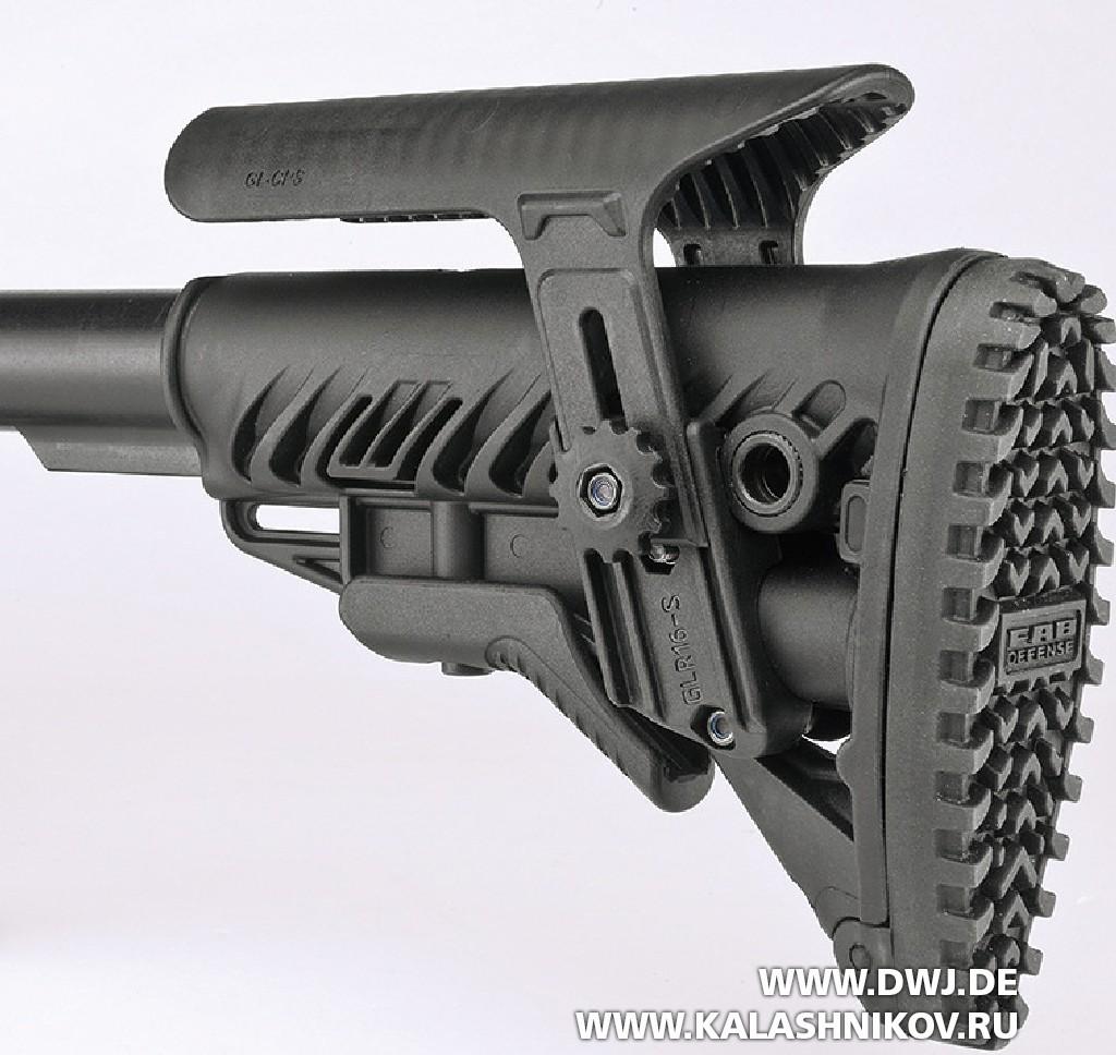 Высокоточная винтовка Savage 10BA Stealth. Приклад