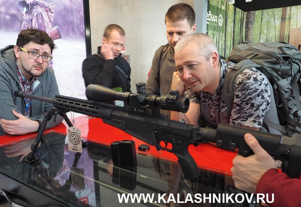 Высокоточная винтовка ATA Arms Turqua ASR на выставке IWA 2019 вНюрнберге