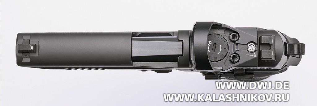 Пистолет SIG Sauer P226 RX сколлиматорным прицелом Romeo1. Фото 5