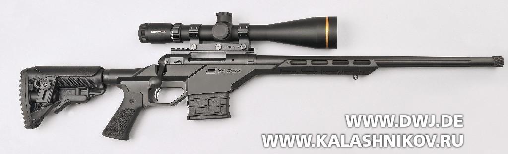 Высокоточная винтовка Savage 10BA Stealth. Вид справа