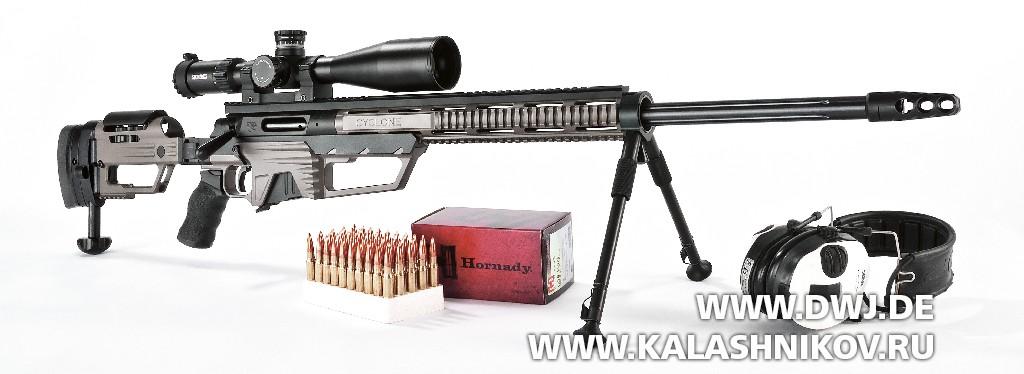 Высокоточная винтовка Steel Core Designs Cyclone .308 Winchester.