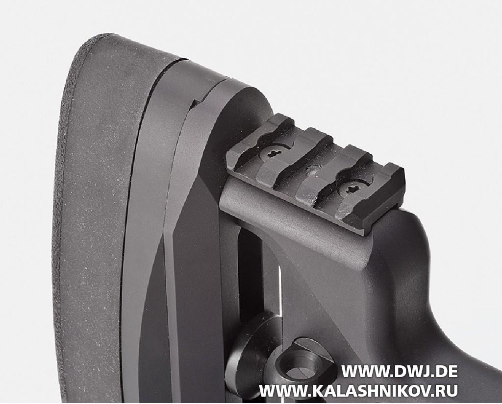 Rugerкалибра 6,5 mm Creedmoor, планка для ноги-опоры