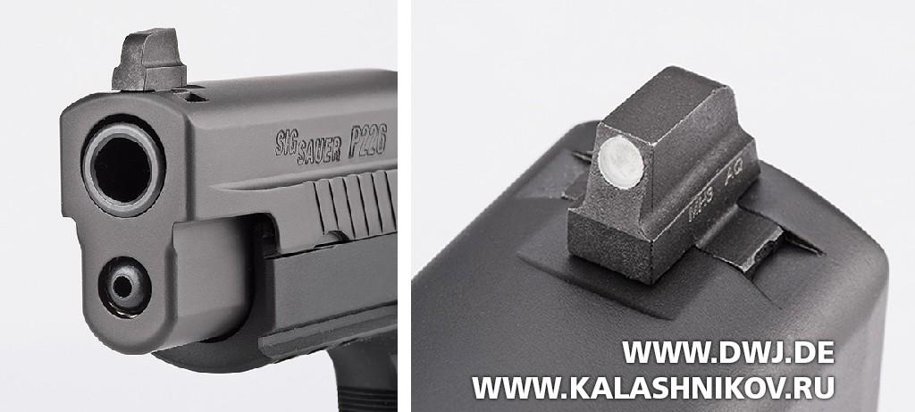 Пистолет SIG Sauer P226 RX сколлиматорным прицелом Romeo1. Фото 6