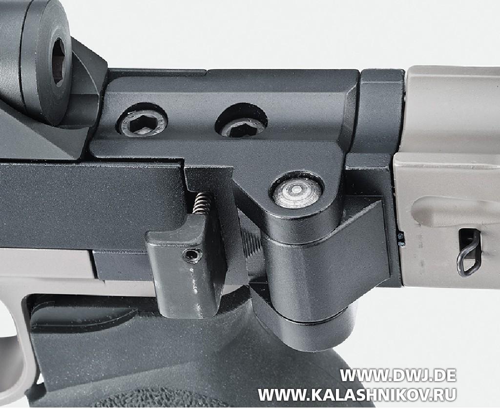 Высокоточная винтовка Steel Core Designs Cyclone калибра .308 Winchester. Механизм складывания приклада