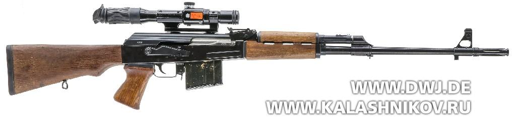 Югославская снайперская винтовка SSG М76. Вид справа