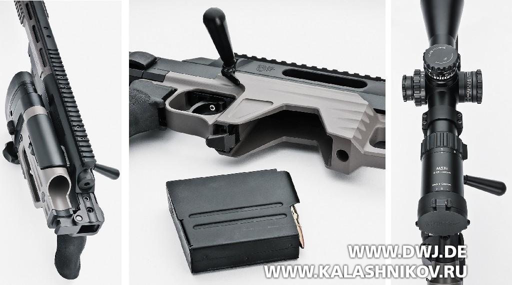 Высокоточная винтовка Steel Core Designs Cyclone калибра .308 Winchester. Фото 1