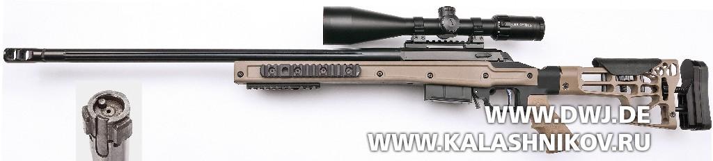 Высокоточная винтовка Browning X-Bolt MDT HS3. Вид справа