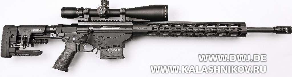 Ruger Precision Rifle вид справа
