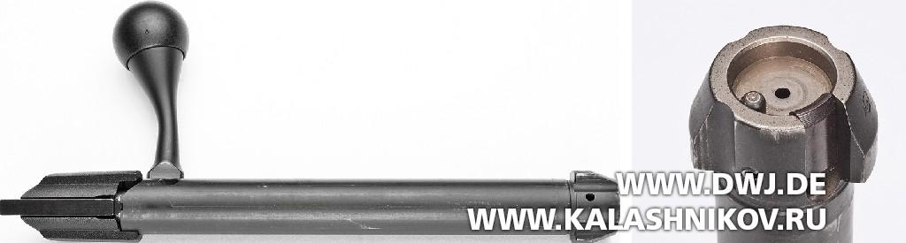Высокоточная винтовка Tikka T3x TAC A1. Затвор