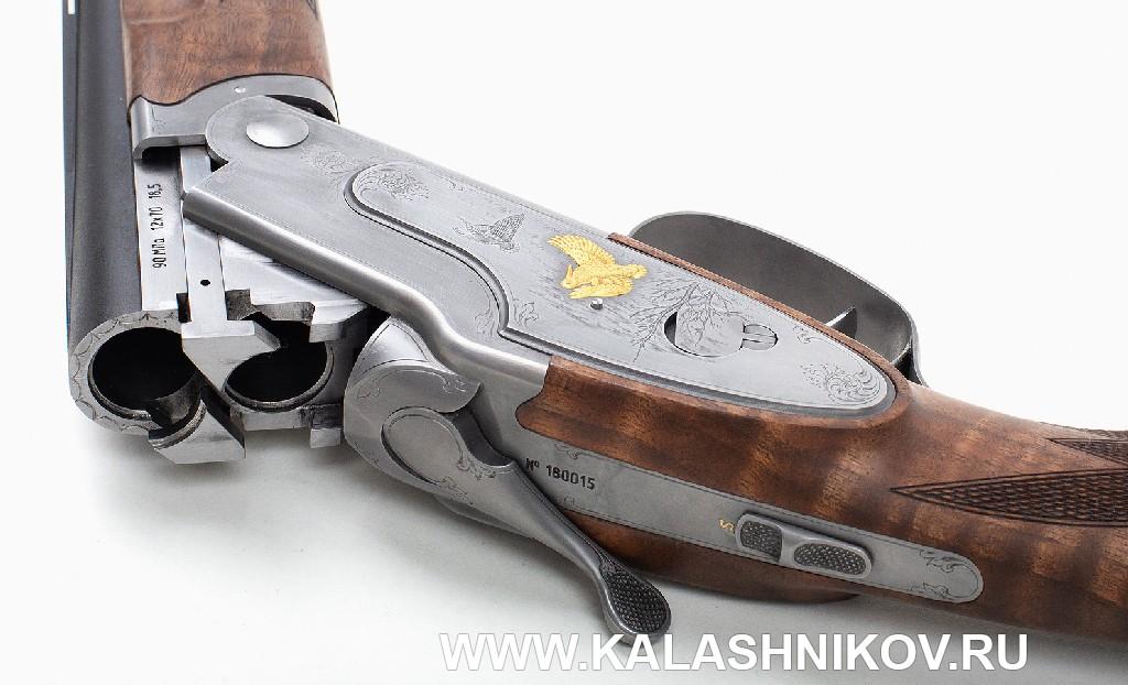 Охотничье ружье «Левша-Т» ЛТ5001. Вид на казенную часть