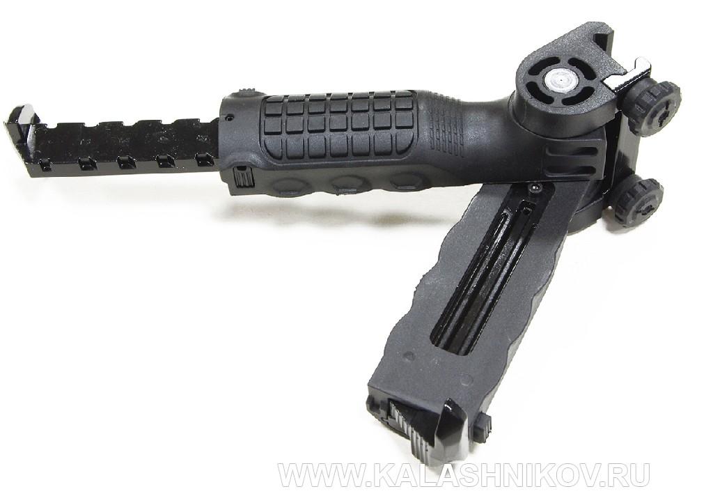 Пневматическая магазинная винтовка Kral Jumbo NP 500. Сошка-рукоятка