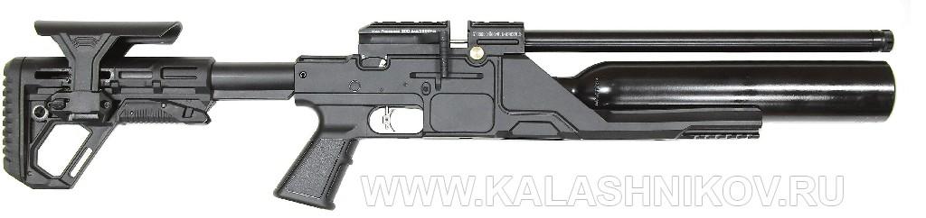 Пневматическая магазинная винтовка Kral Jumbo NP 500. Вид справа
