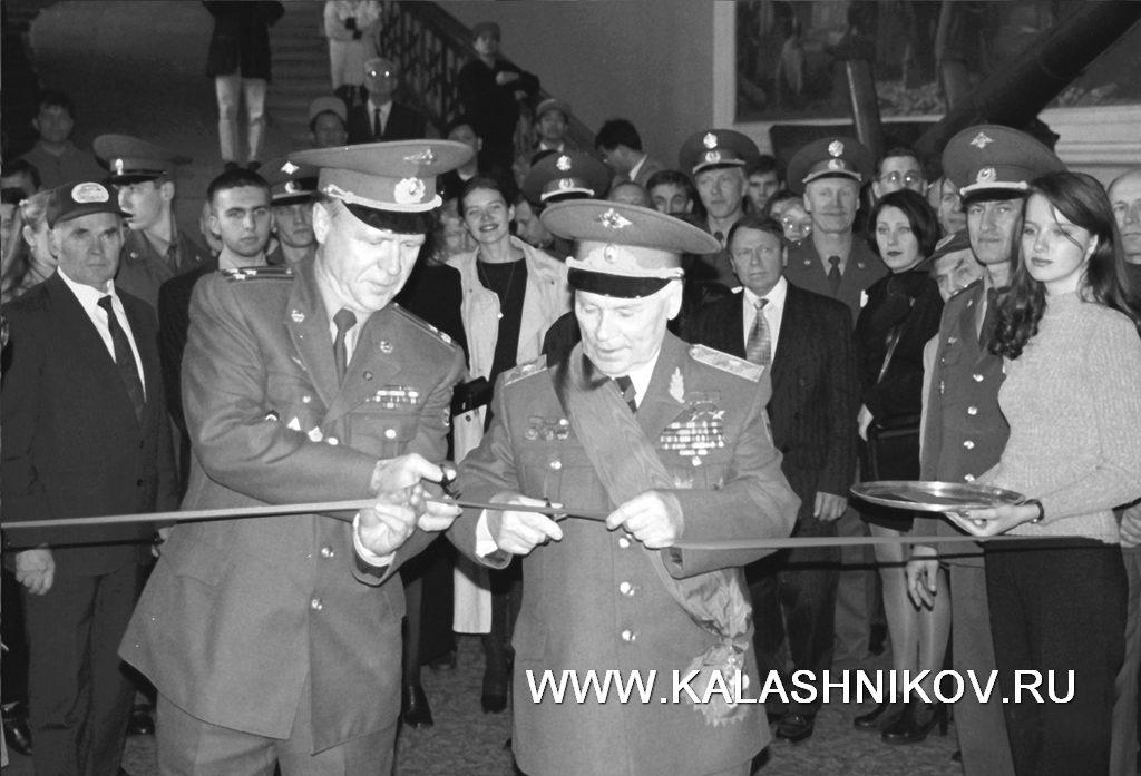 В. М. Крылов, М. Т. Калашников, выставка, артиллерийский музей