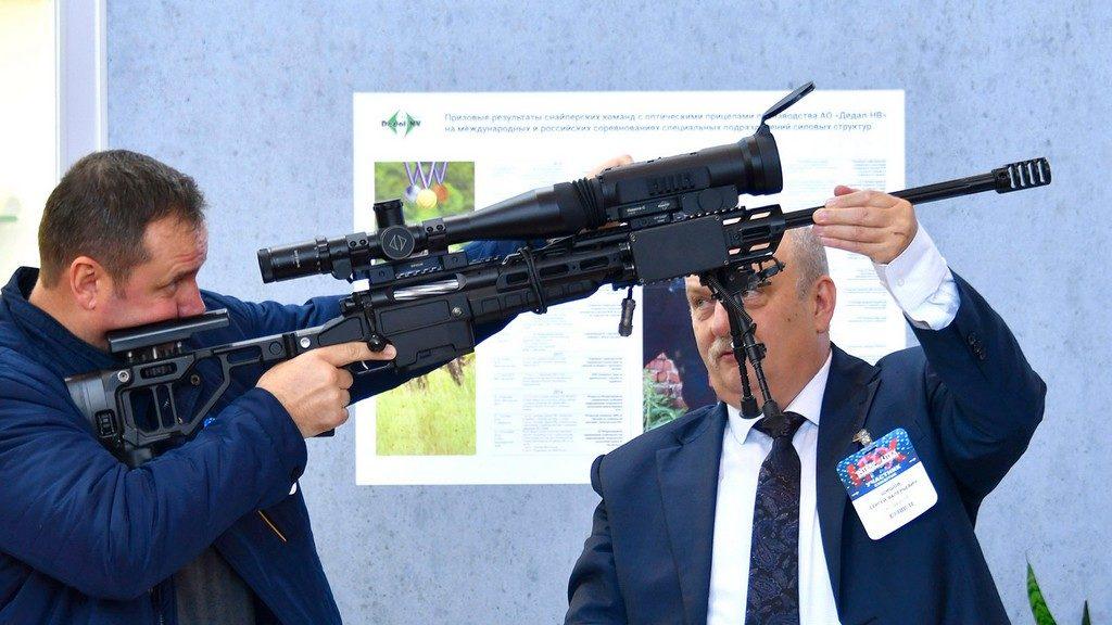 Дедал, Dedal DSF 5-20х56, Невеста-С, тепловизор, снайперская винтовка