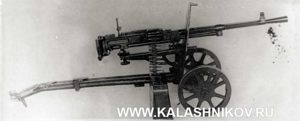станковый пулемёт Горюнова модернизированный (СГМ). Фото 1