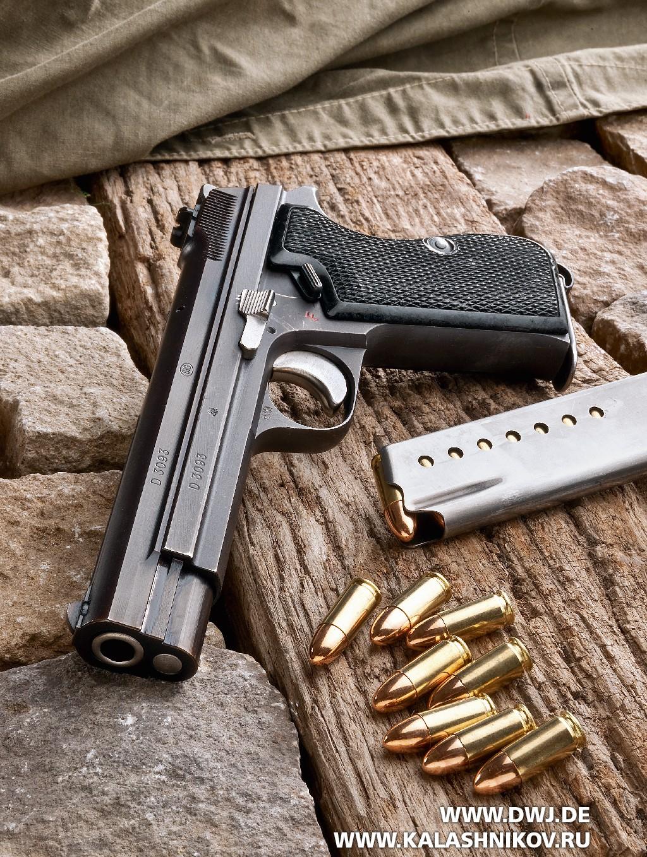 Пистолет SIG P210-4. Фото 1