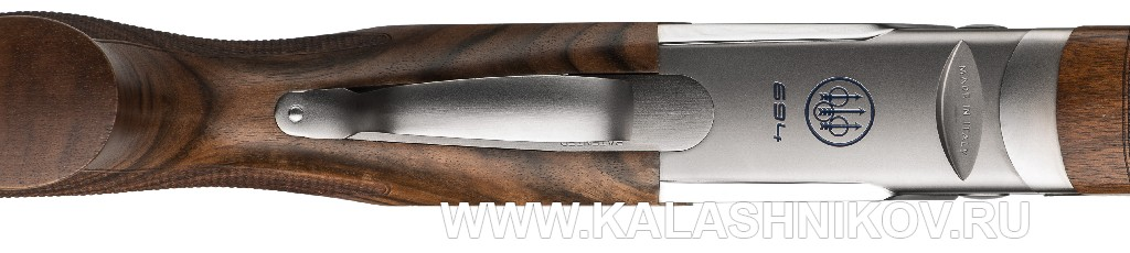 Ружье Beretta 694. Вид снизу