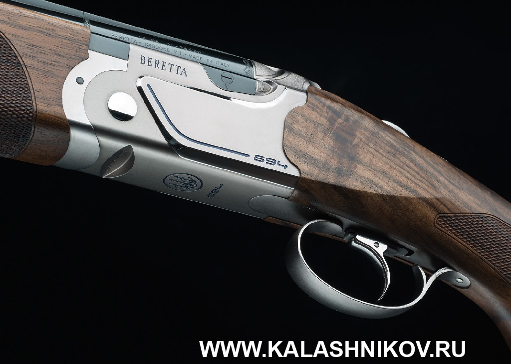 Ружье Beretta 694. Ствольная коробка