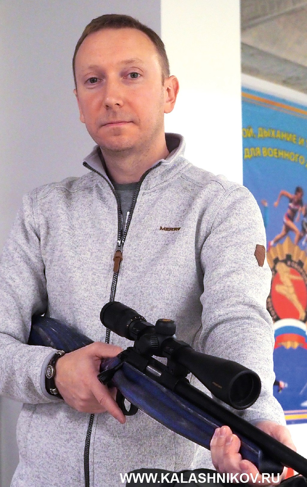 Тест винтовки «Атаман» МЕ 16 спатронами Eley. Фото 1