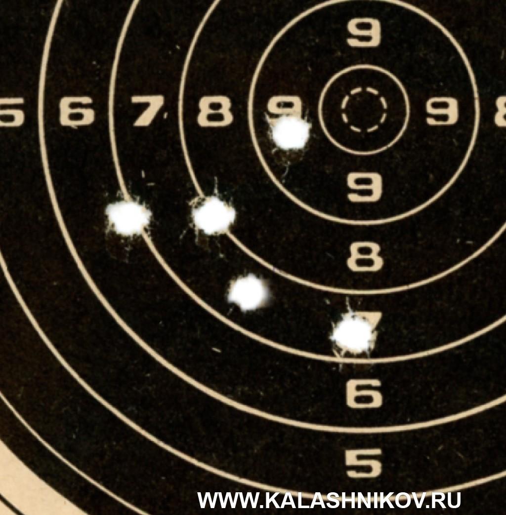 Тест винтовки «Атаман» МЕ 16 спатронами Eley. Фото 7