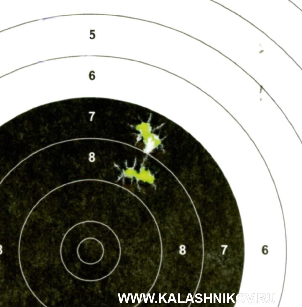 Тест винтовки «Атаман» МЕ 16 спатронами Eley. Фото 6