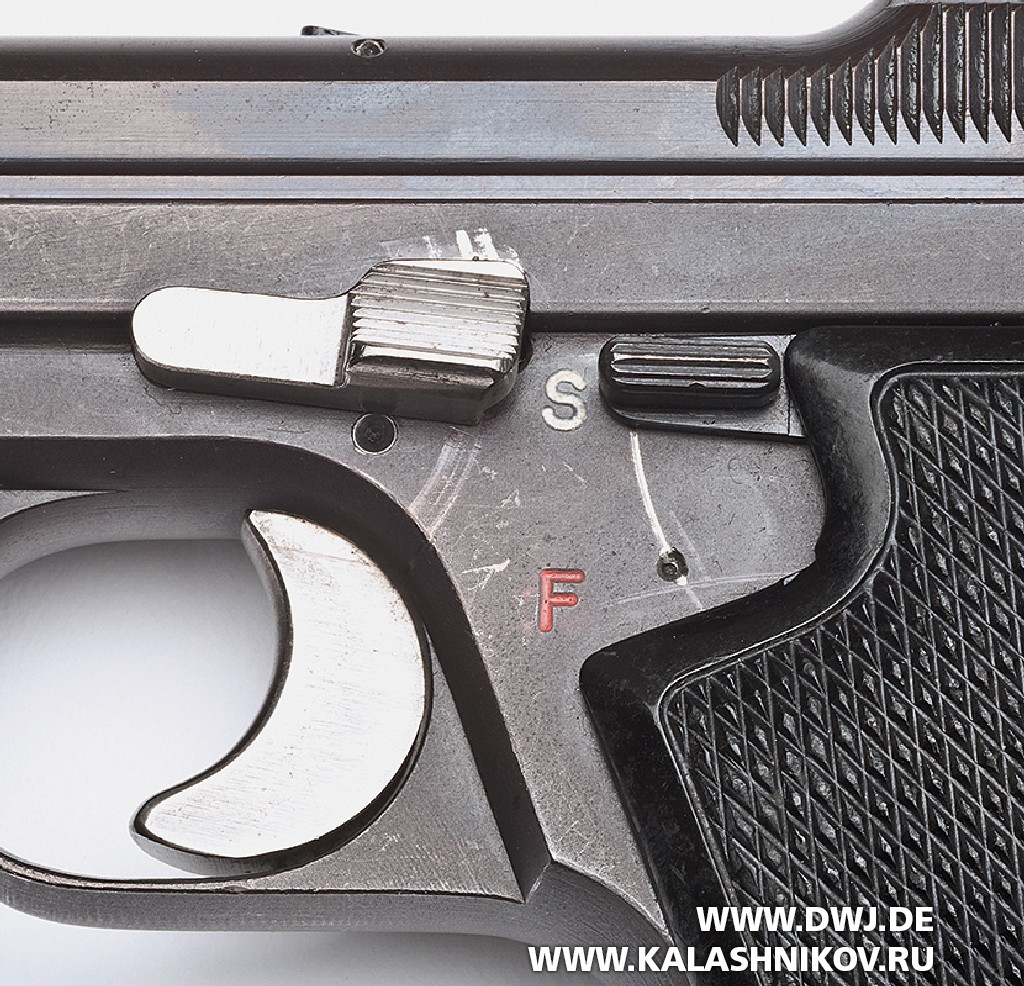 Пистолет SIG P210-4. Фото 5