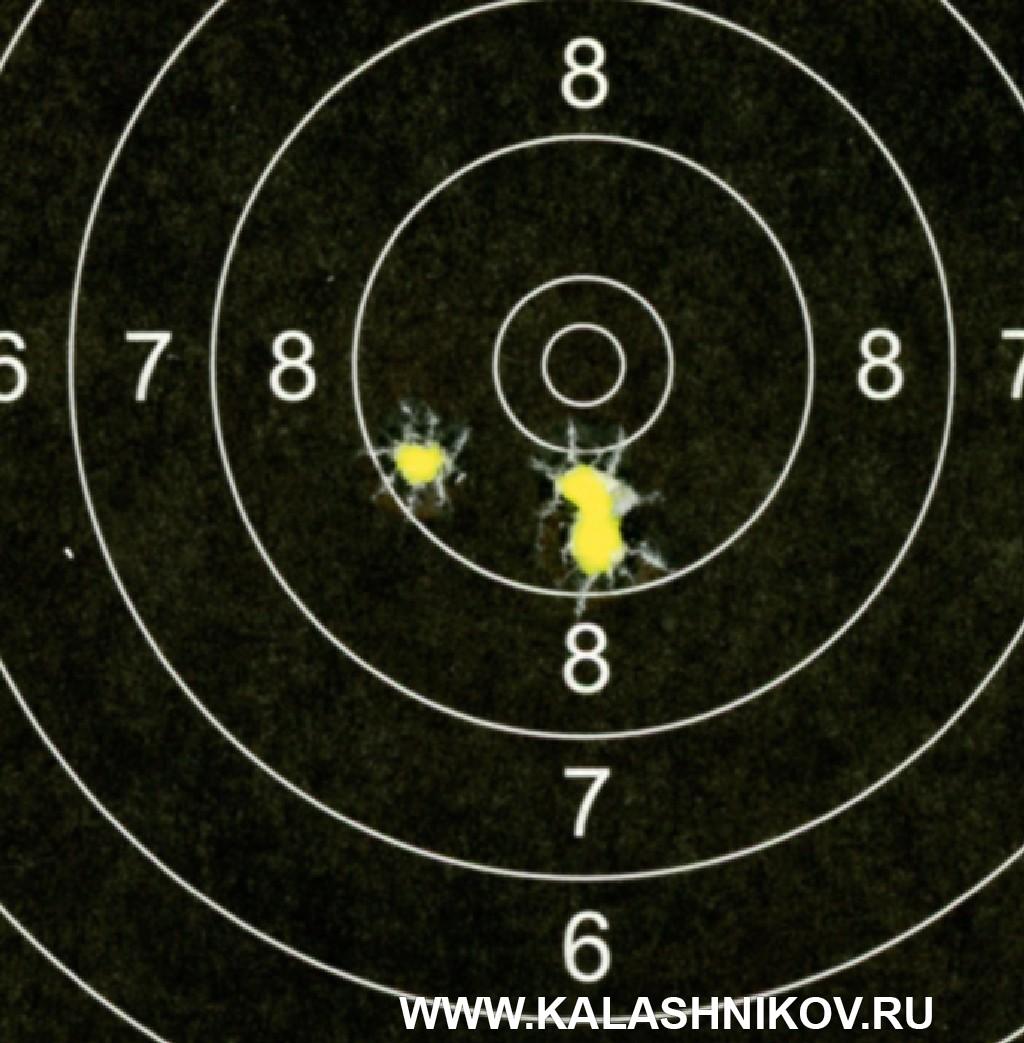 Тест винтовки «Атаман» МЕ 16 спатронами Eley. Фото 4