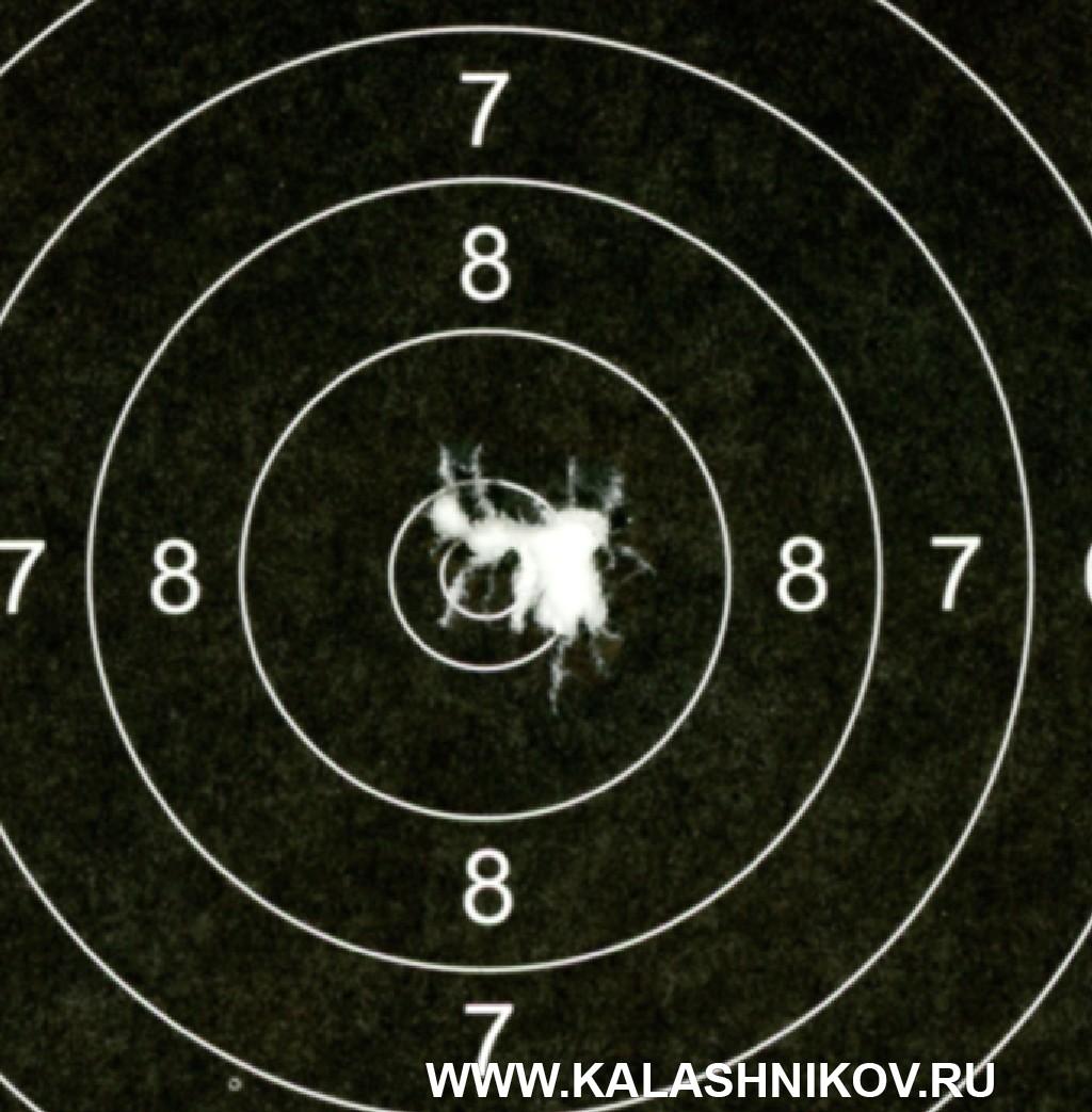 Тест винтовки «Атаман» МЕ 16 спатронами Eley. Фото 8