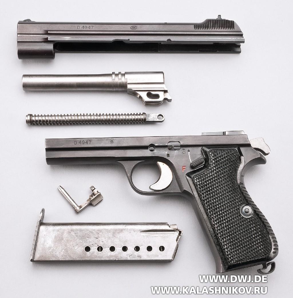 Пистолет SIG P210. Фото 11