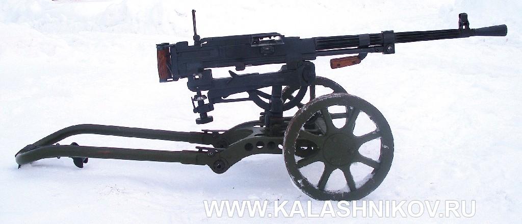 Станковый пулемёт Горюнова модернизированный (СГМ). Фото 23