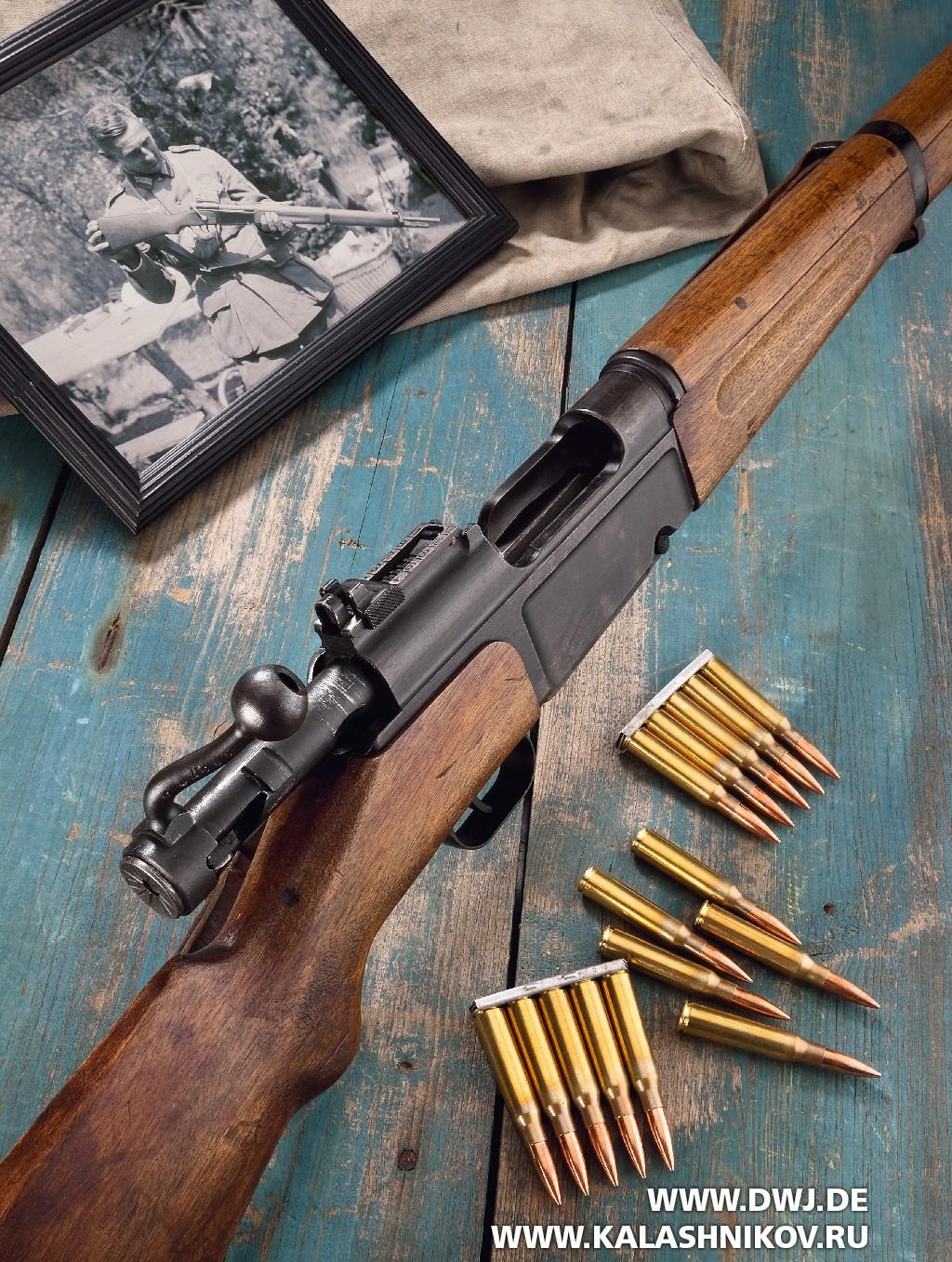 Французская пехотная винтовка MAS Modell36. Фото 1