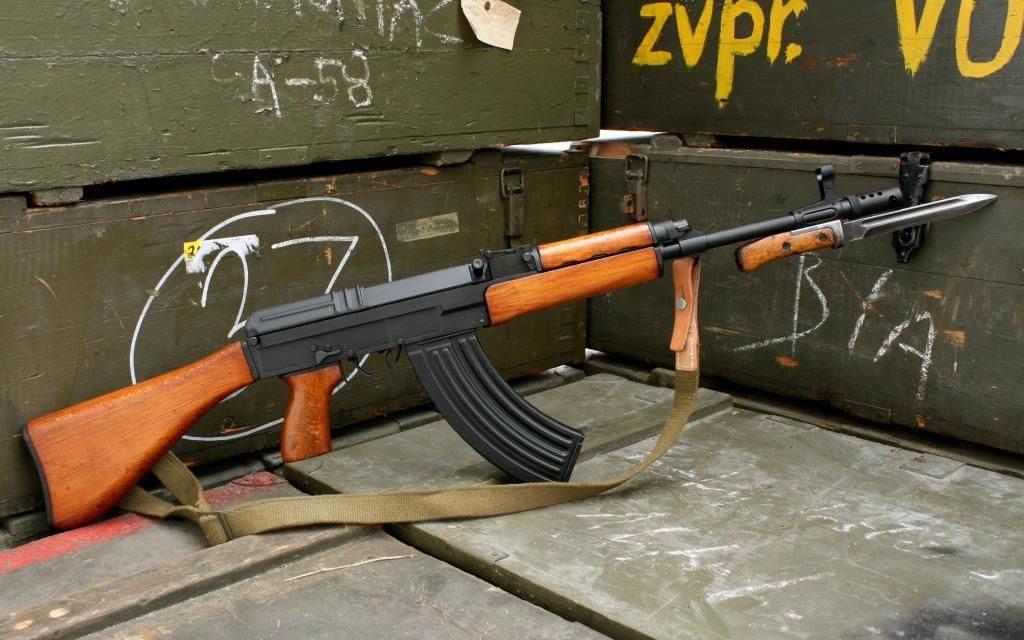 Classic Vz.58, штык