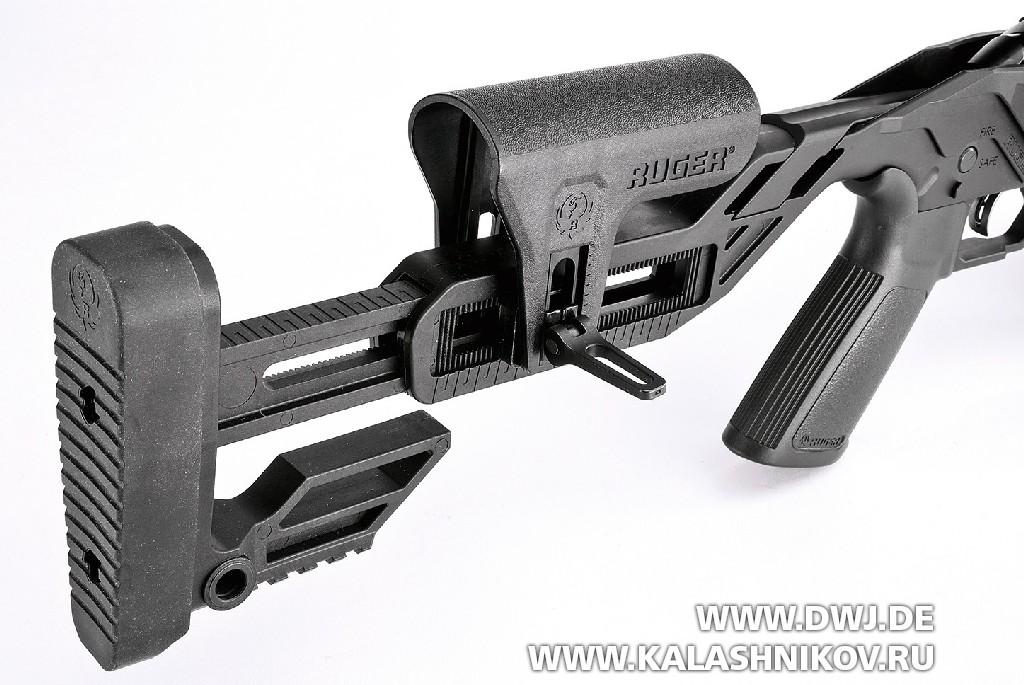 Малокалиберная винтовка Ruger Precision Rimfire, приклад