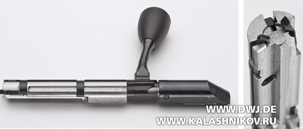 малокалиберная винтовка Ruger Precision Rimfire, затвор, фото 2