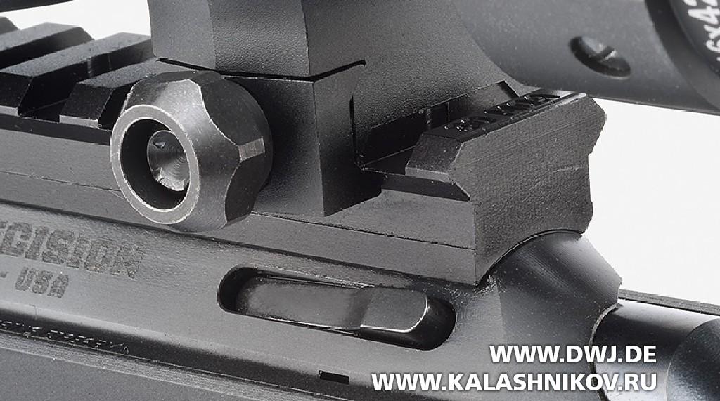 Малокалиберная винтовка Ruger Precision Rimfire, останов затвора