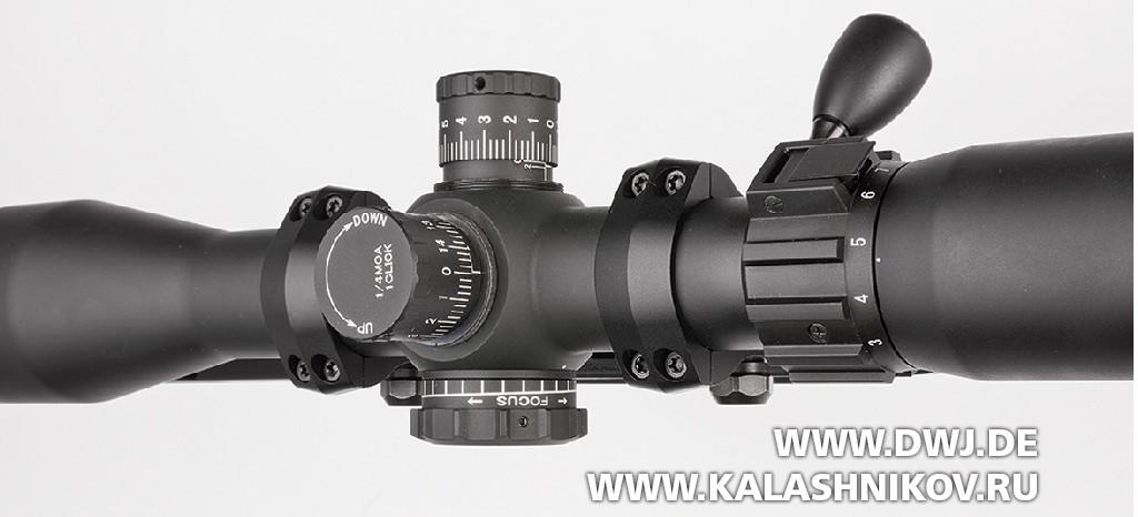 оптический прицел Sightron S-TAC 3–16x42 сбарабанчиками матчевого типа