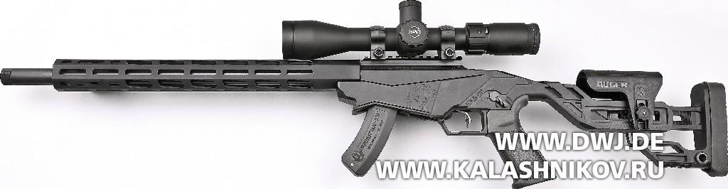 Малокалиберная винтовка Ruger Precision Rimfire, вид слева
