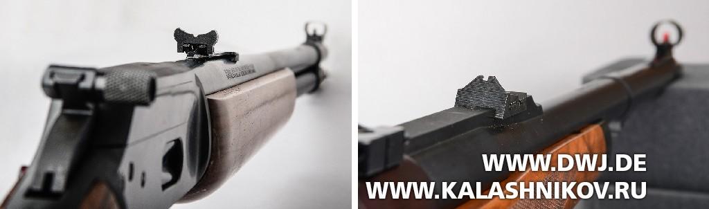 Целик типа «оленьи рога» и целик фирмы JM Waffentechnik
