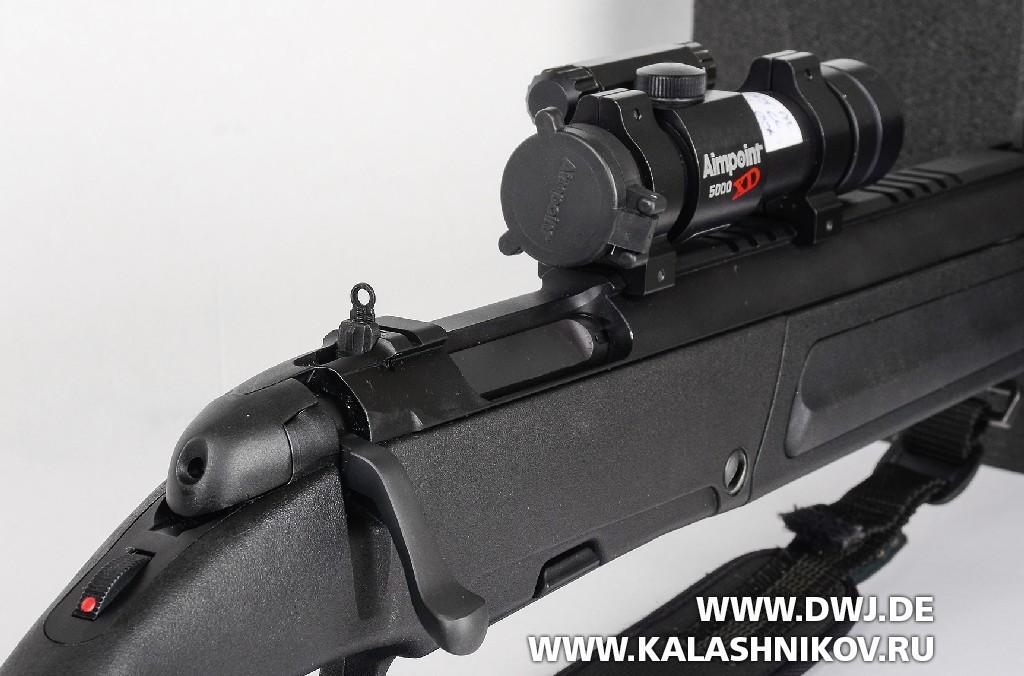 регулируемый целик винтовки Steyr-Scout