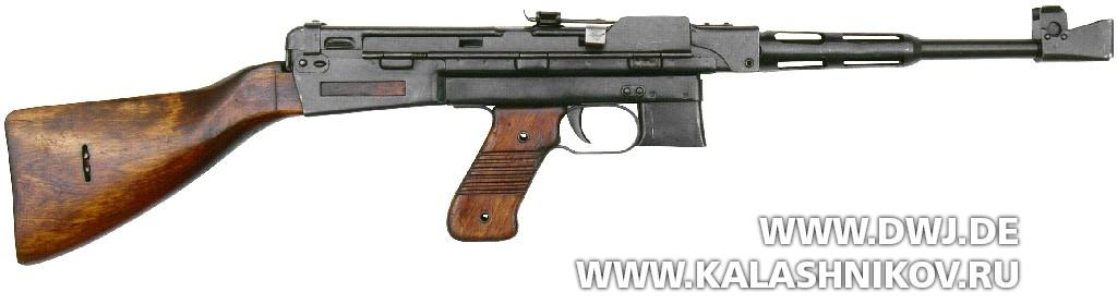 Пистолет-пулемёт Шпагина (ППШ-42) обр. 1942 г.