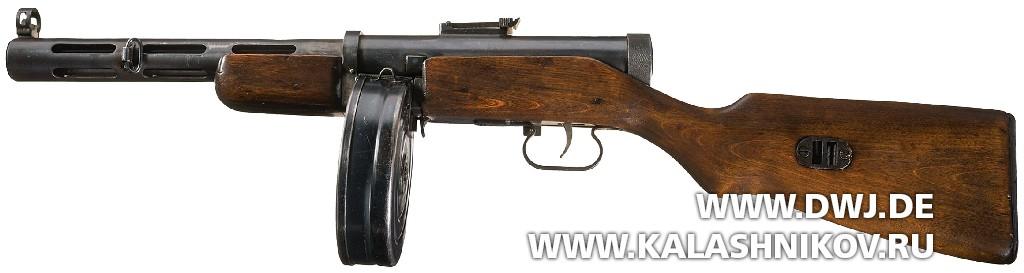 Пистолет-пулемёт Дегтярёва ППД обр.1940г