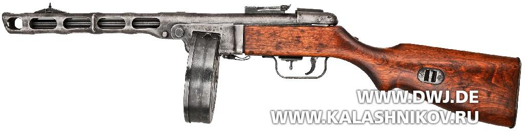 Пистолет-пулемёт Шпагина раннего выпуска (ППШ-41)