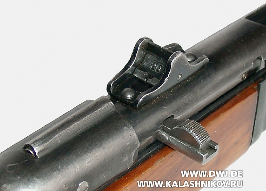 Пистолет-пулемёт Шпагина (ППШ-41) предохранитель