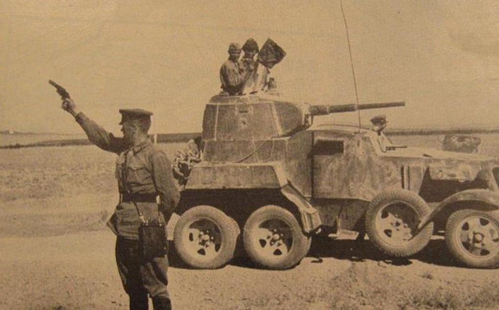 ОСП-30, бронеавтомобиль БА-10