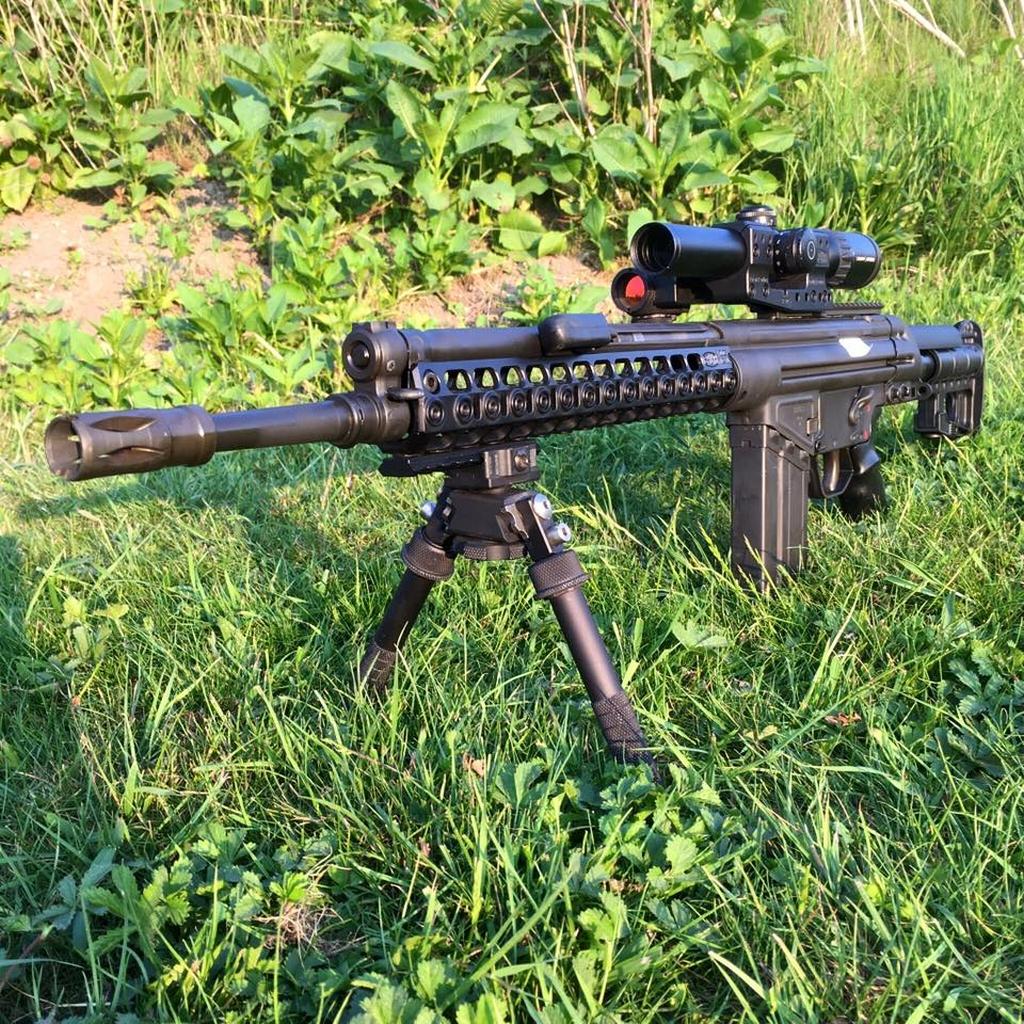 штурмовая винтовка, G3, цевье, пикатини
